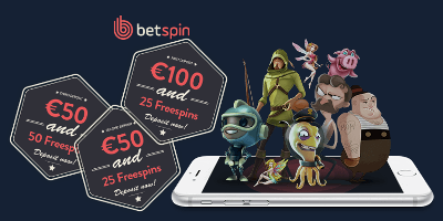 First deposit bonuses Betspin