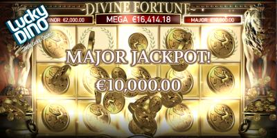 Divine Fortune ilmaiskierroksia 2017 LuckyDino